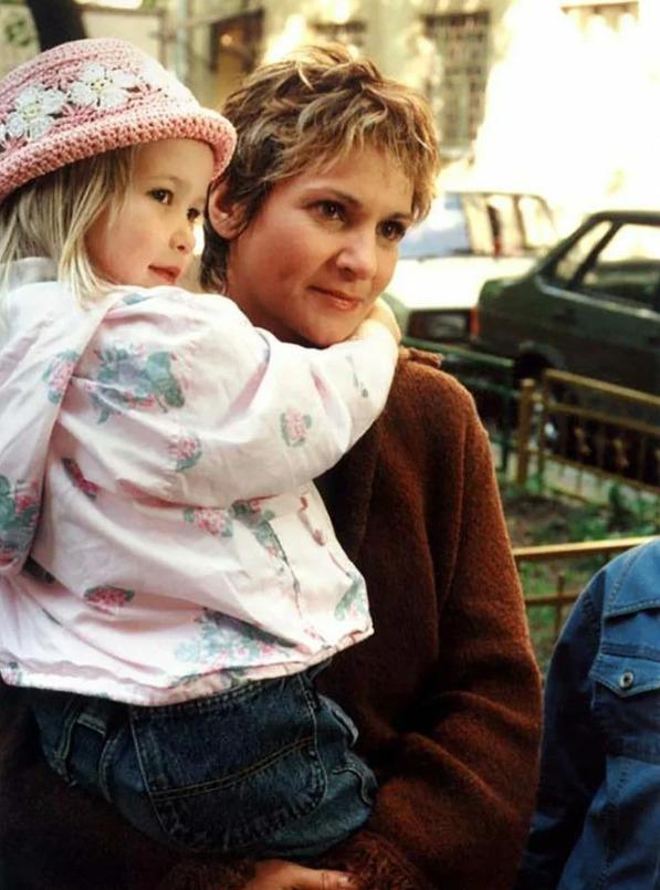 Людмила с дочерью Катей