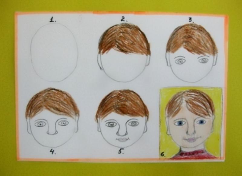 Нарисовать портрет папы поэтапно своими руками