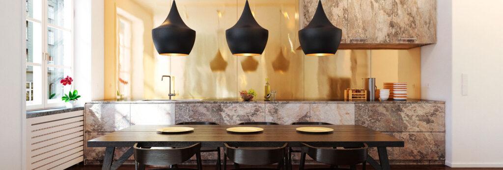 готовые решения по столешницам для кухни