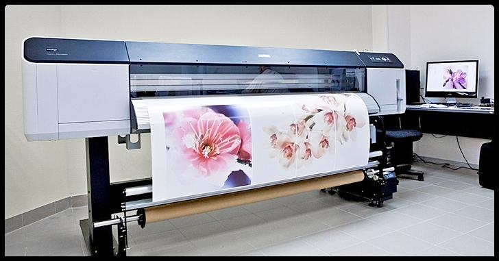 Современный широкоформатный принтер