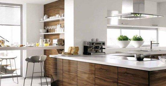 Барная стойка - продолжение кухонного гарнитура