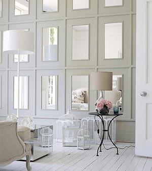 Зеркальная стена в интерьере: фото, рекомендации, примеры