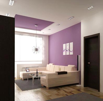 Двухуровневые потолки в интерьере квартиры: эксклюзивный дизайн