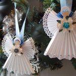 Фото 11: Ангелочки из салфеток