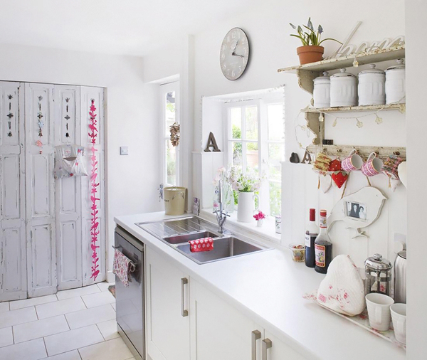 Кухня в стиле коттедж фото