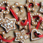 Фото 40: Новогоднее печенье в качестве украшения