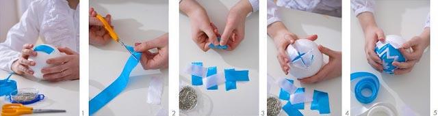 Как сделать ёлочную игрушку легко своими руками