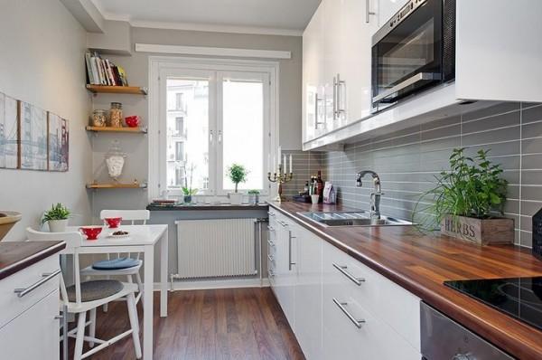 Дизайн кухни прямоугольной: особенности, интересные идеи и рекомендации