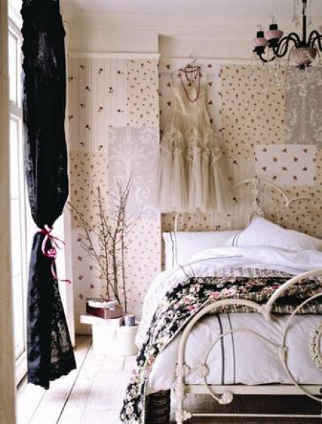 романтичная спальня для девушки