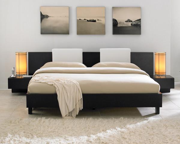 маленькая спальня в японском стиле