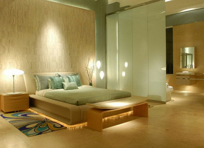 спальня дзен