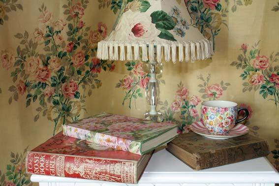текстиль на лампе