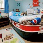 Фото 83: Детская комната для дошкольника в пиратском стиле