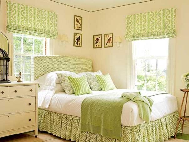 зелная спальня