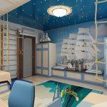 Фото 22: Дизайн детской в морском стиле фото