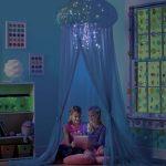 Фото 74: Шатер - медуза в детской в морском стиле для девочек
