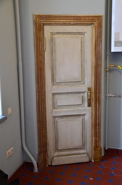 Как состарить дверь в стиле прованс