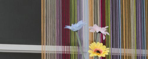 Нитяные шторы радуга