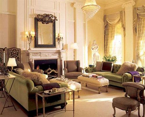 Интерьер в пастельных тонах в классическом стиле