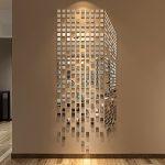 Фото 91: Зеркало мозаика в виде 3Д фигуры