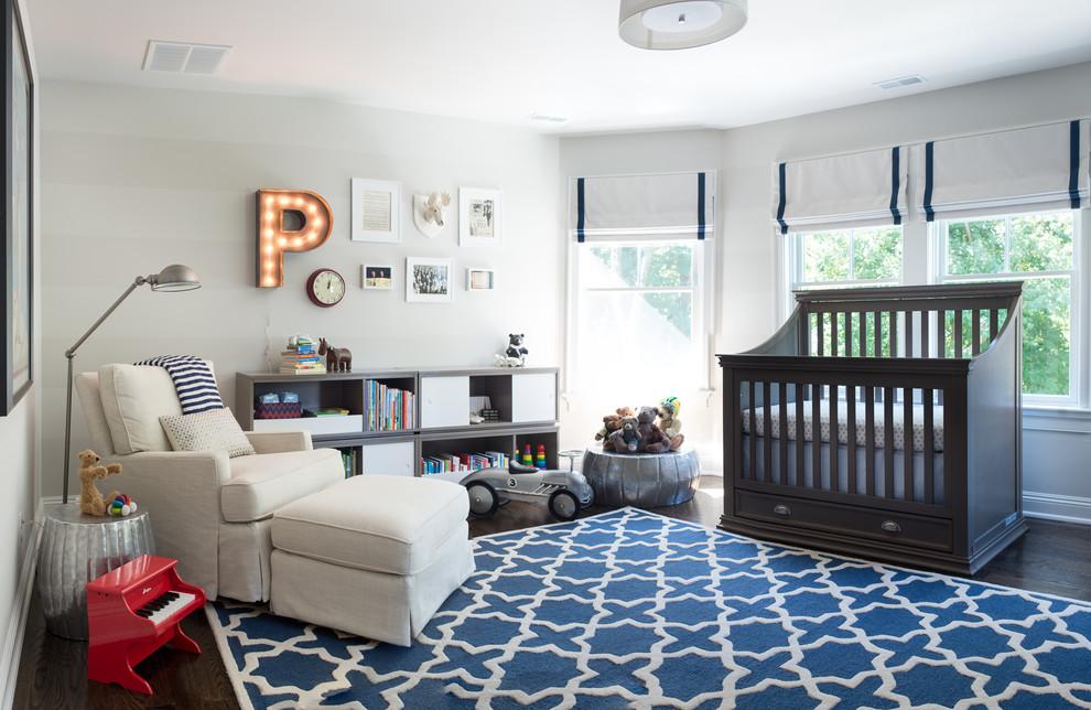 Дизайн комнаты для новорожденного мальчика фото