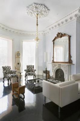 Living Room-Bronze Mirror
