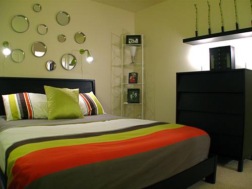Покрывало для маленькой спальни