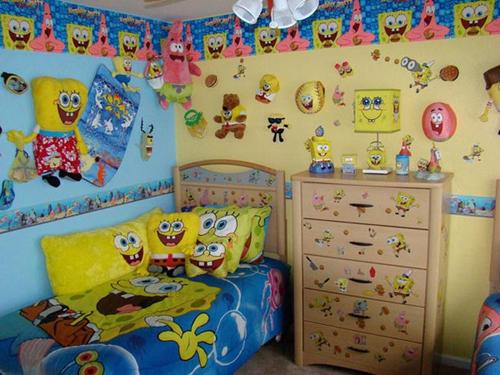 Неправильное использование аксессуаров совместно с фотообоями в интерьере детской комнаты