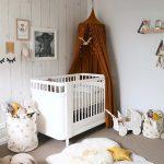 Фото 133: интересное оформление комнаты новрождённого