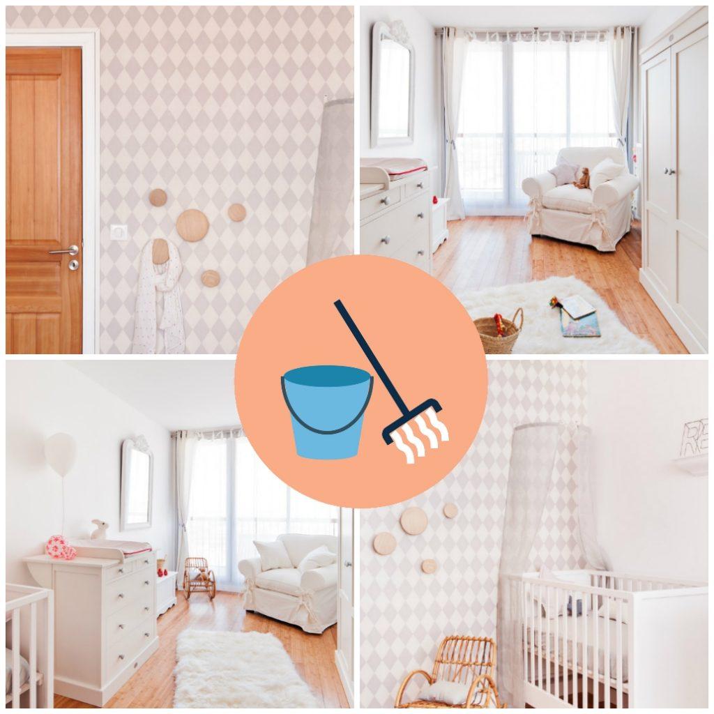Чистота в комнате для новрождённого