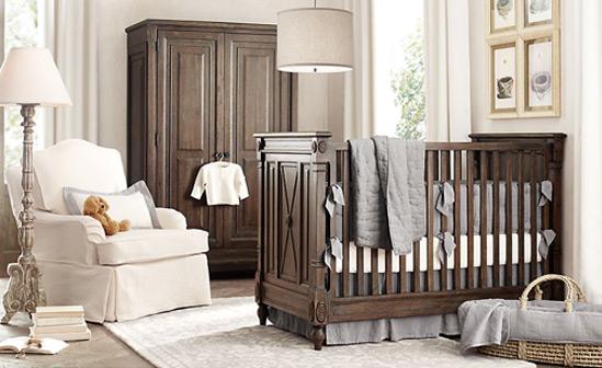 интерьер комнаты для новорожденного