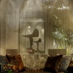 Фото 63: Нитяные шторы в интерьере фото