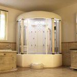 Фото 59: Ванная - душевая кабина трапециевидной формы