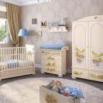 Фото 121: Детские комнаты для новорожденных фото