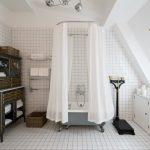 Фото 107: Интерьер винтажной ванной комнаты
