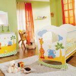 Фото 55: Ковёр в детской комнате для новрождённых