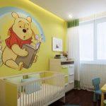 Фото 84: Натяжной потолок в комнате для новорождённого