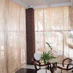 Фото 103: Нитяные шторы для панорамных окон