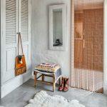 Фото 95: Нитяные шторы цепи в проеме