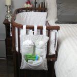 Фото 130: Прикроватная люлька в комнате новорождённого
