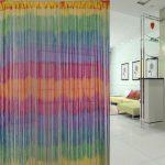 Фото 108: Радужные нитяные шторы