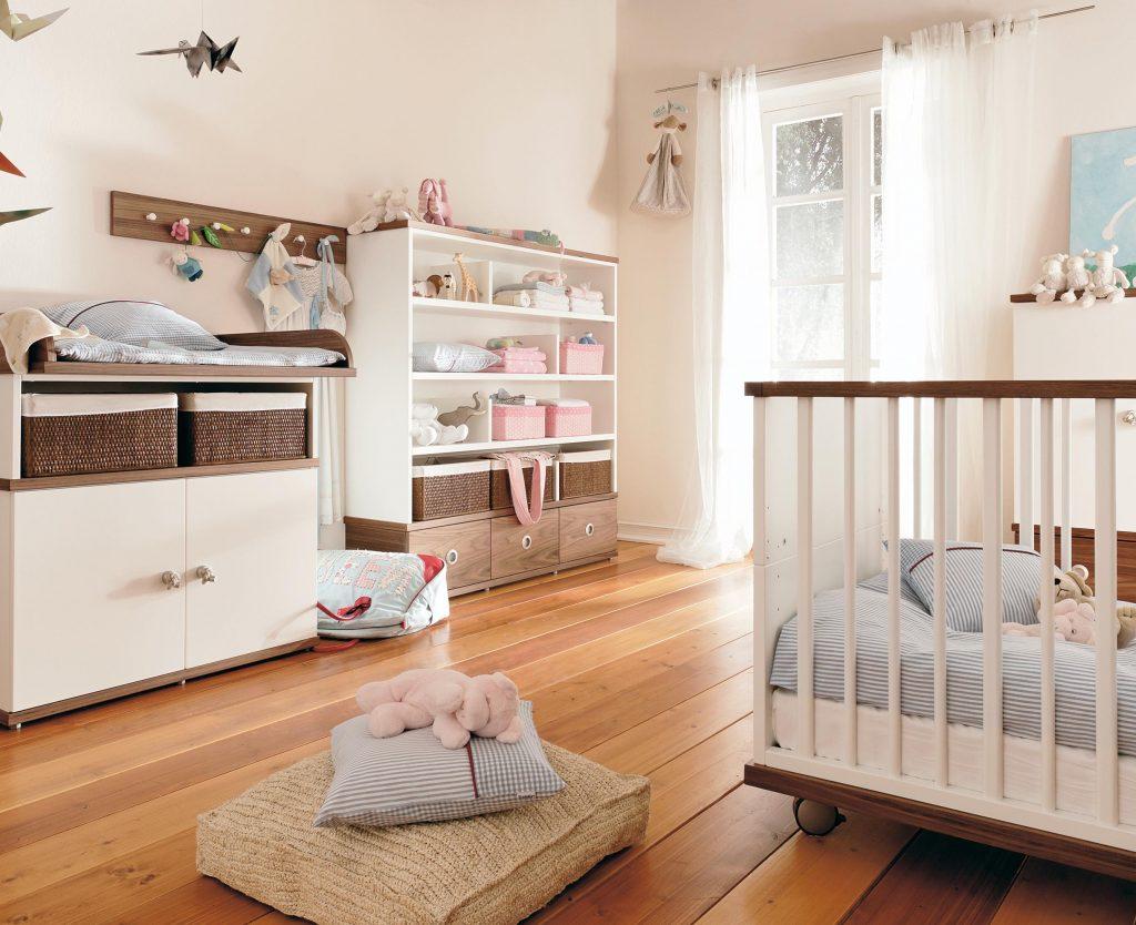 Дизайн комнаты для новорожденного и родителей фото