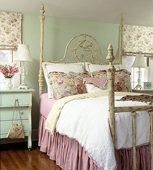 Мебель для детской комнаты принцессы в стиле шебби шик