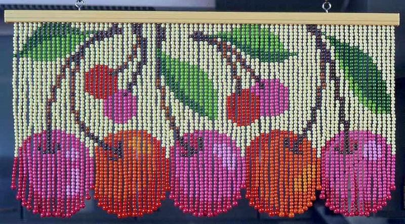 Схемы шторы из бисера своими руками схемы