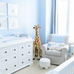 Фото 77: Дизайн комнаты для новорождённого мальчика в голубом цвете