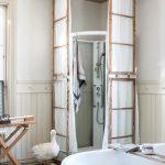 Фото 118: Ванная в стиле ретро с душевой