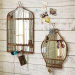 Фото 122: Зеркала в виде птичьих клеток