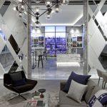 Фото 127: Оформление стены зеркалами в современном интерьере