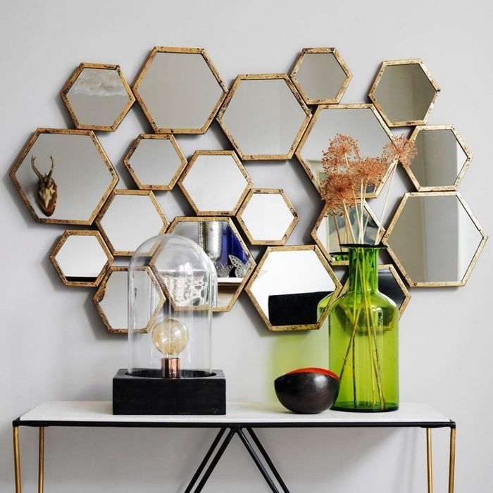 Wall mirror design