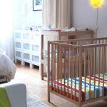 Фото 51: Отделение зоны для новорождённого шторами